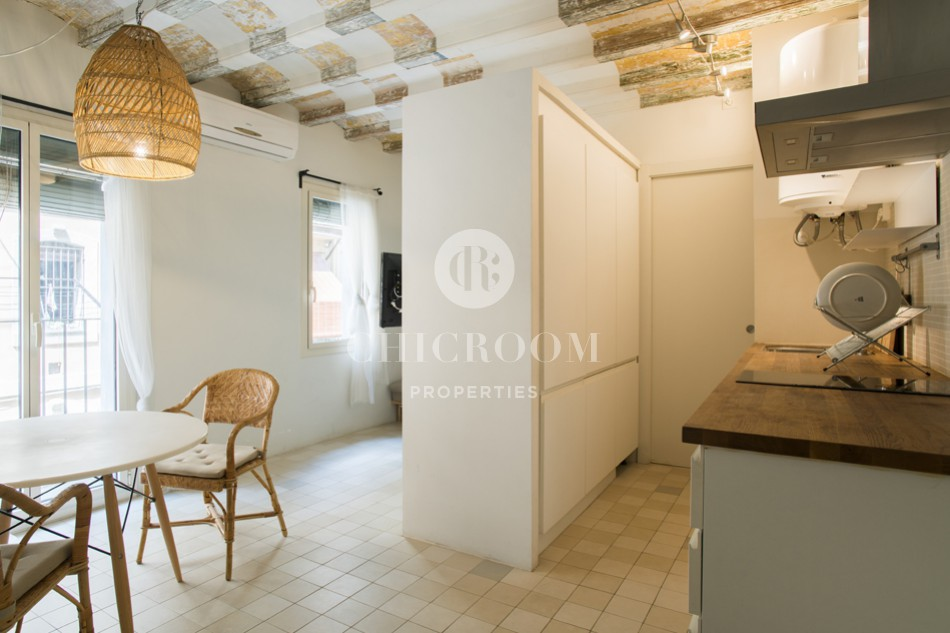 1-bedroom beach apartment for rent in Barceloneta