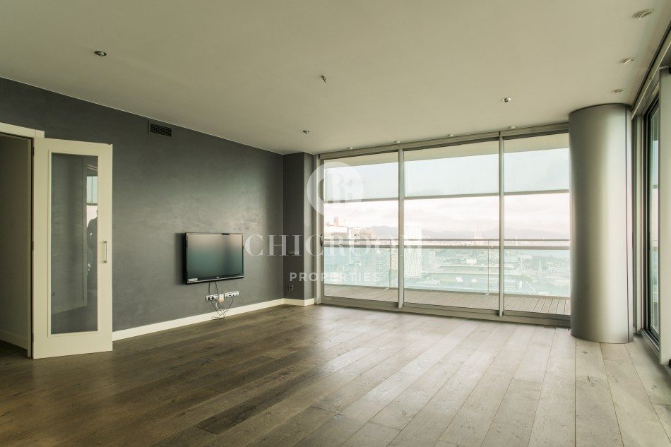 3-bedroom flat for rent in Diagonal Mar Barcelona