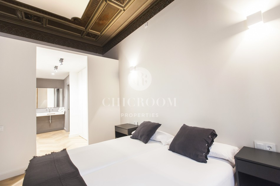 3-bedroom apartment with terrace for sale in Gothic Quarter Barcelona