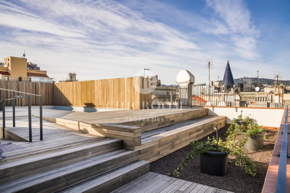 New luxury penthouse for sale in Barcelona centre