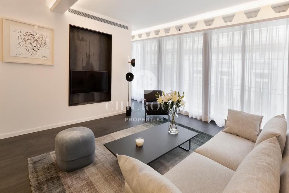 Luxury 2-bedroom apartment for rent in Barcelona Eixample