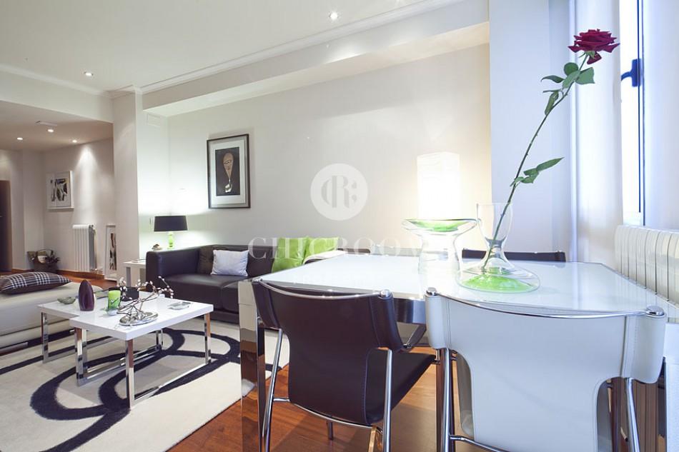 2-bedroom duplex apartment for rent Eixample Barcelona
