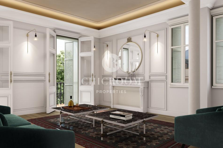 New luxury duplex apartment for sale Gracia Barcelona