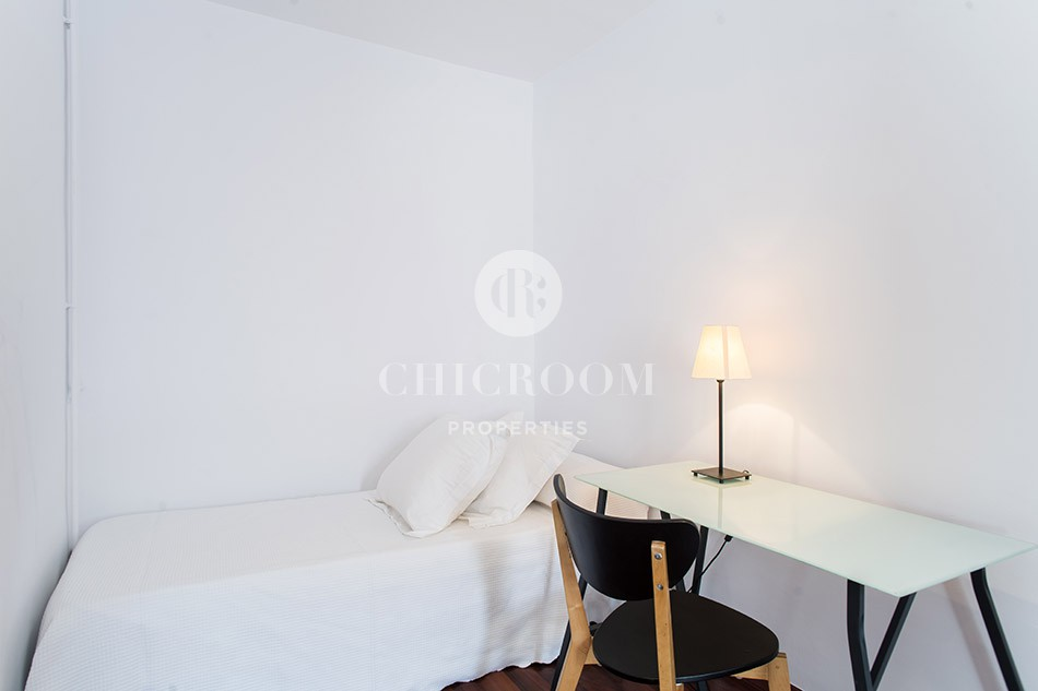 3-bedroom penthouse for rent in Sarria Barcelona