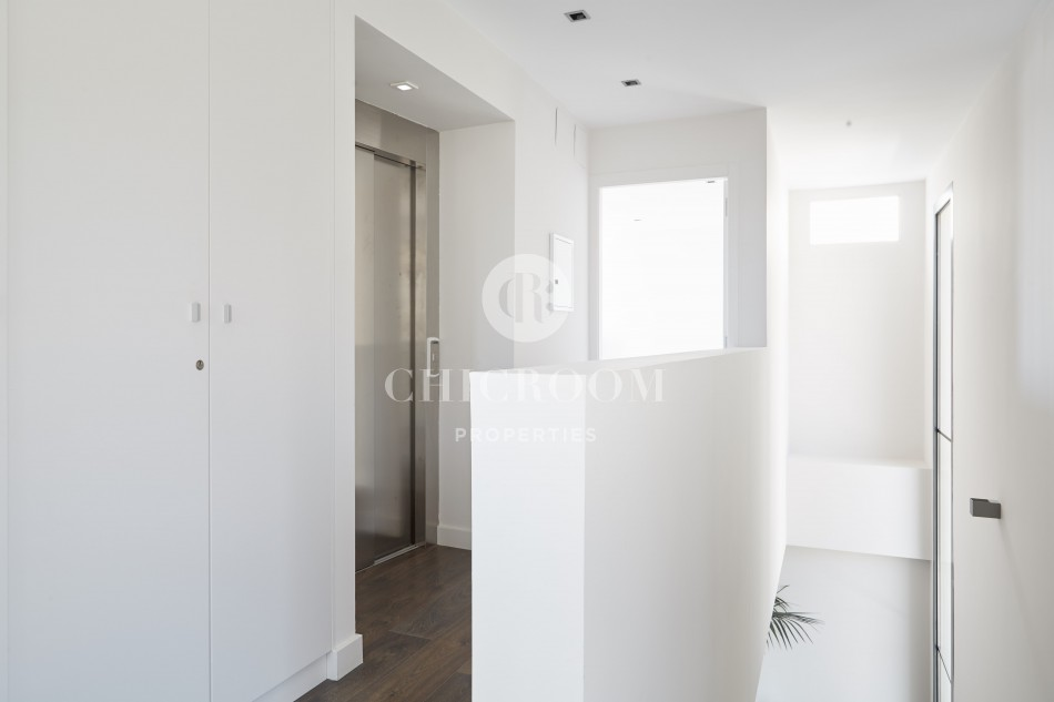 Modern 5-bedroom house for rent with pool in Vallvidrera Barcelona