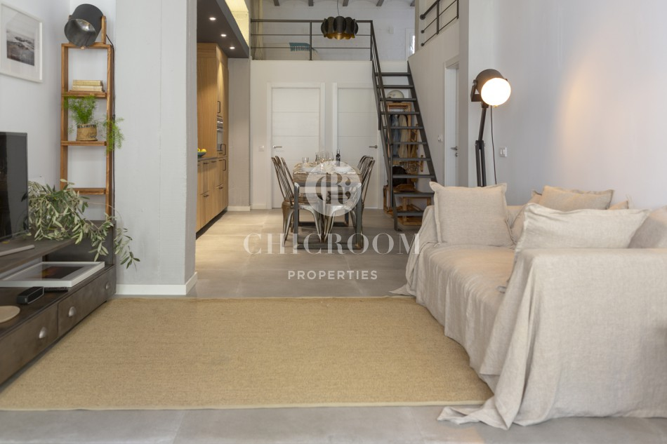 Duplex apartment near the beach for rent in Sitges