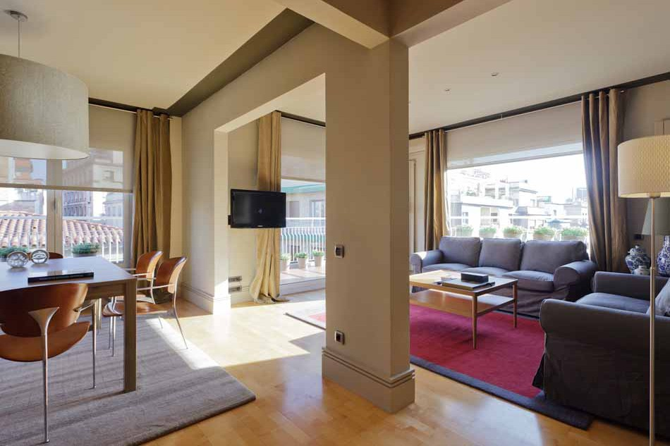 3 Bedroom penthouse for sale in Barcelona Sarria