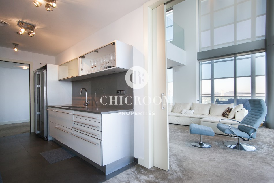 Luxury penthouse duplex for sale in Diagonal Mar Barcelona