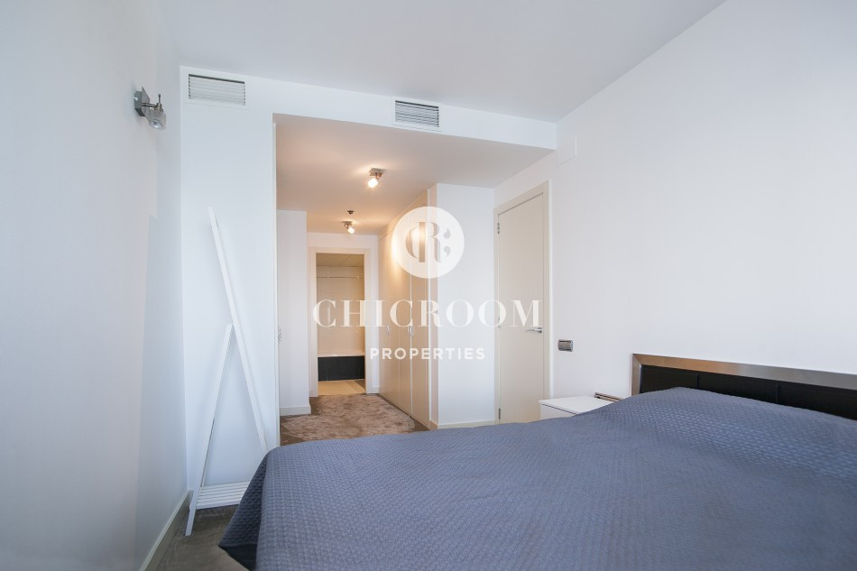 Luxury penthouse duplex for sale in Diagonal Mar Barcelona