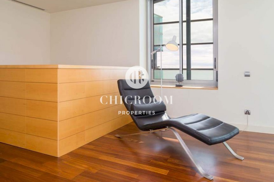 3-bedroom penthouse for sale in Diagonal Mar Barcelona