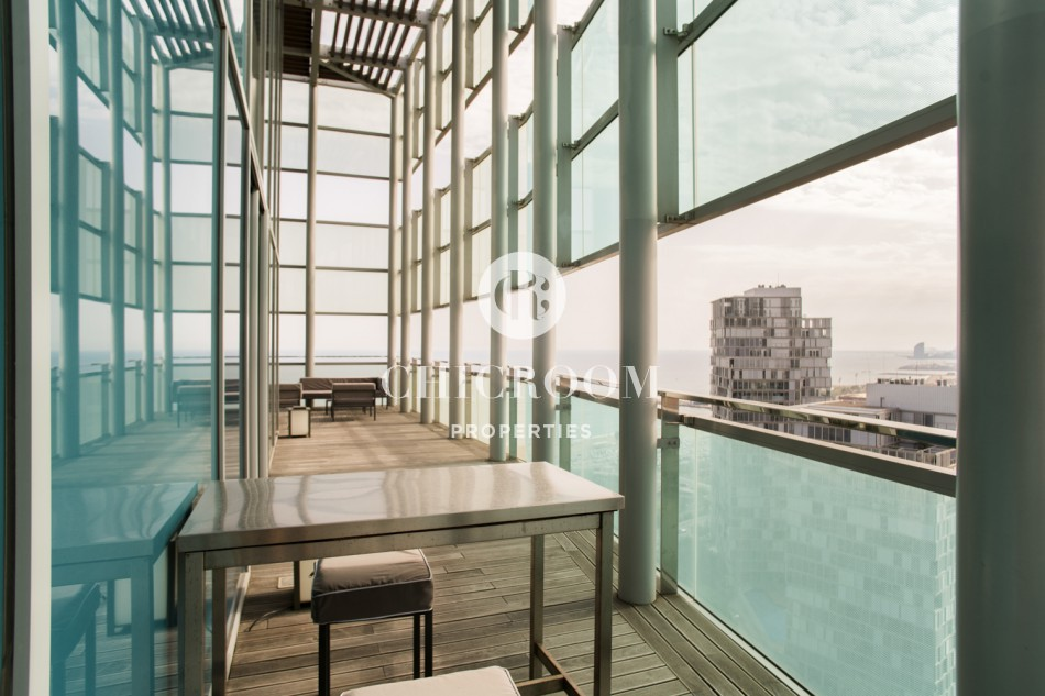 Luxury 4-bedroom duplex penthouse for sale in Diagonal Mar