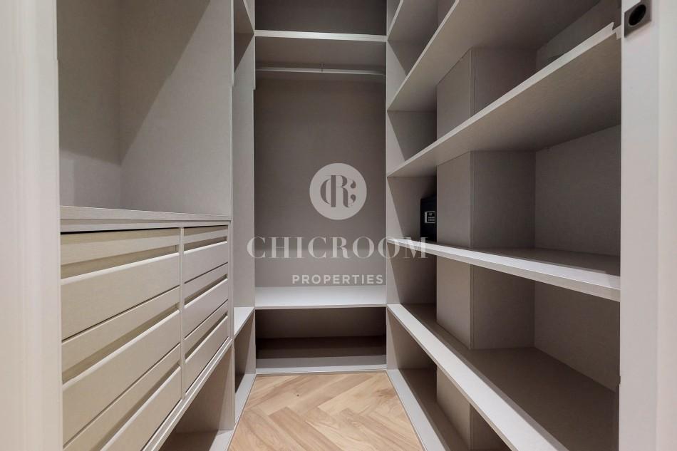 Designer 3-bedroom apartment for rent in Madrid centre