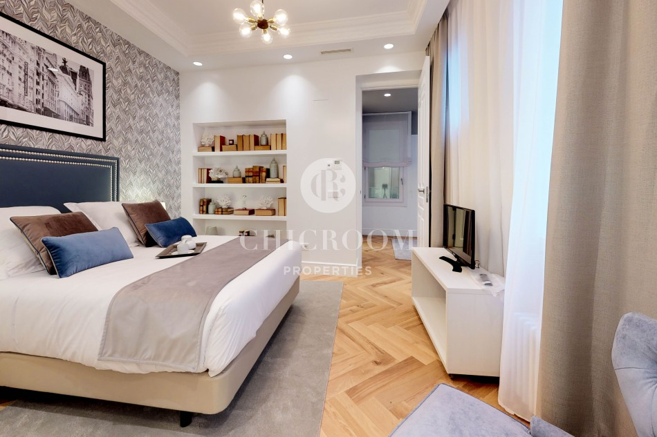 Luxury 3-bedroom apartment for rent in Madrid centre