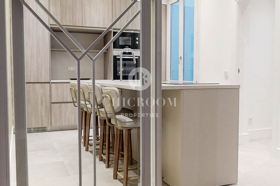 Luxury 3-bedroom apartment for rent in calle Alcalá Madrid