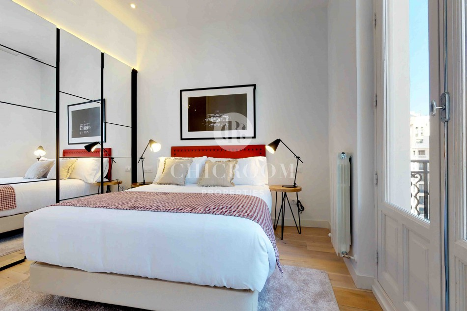 One-bedroom apartment for rent in Gran Via Madrid
