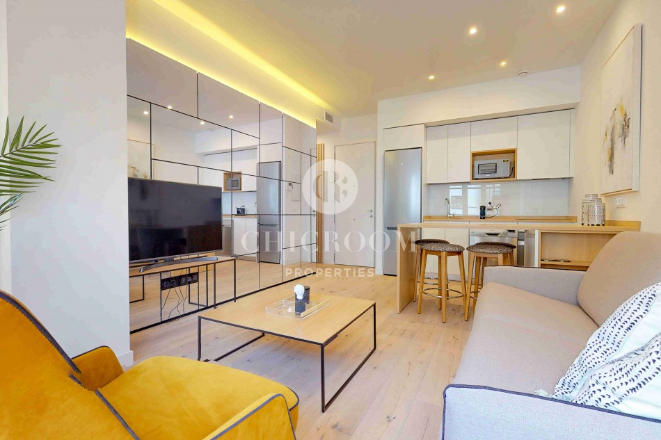 Two-bedroom apartment for rent in Gran Via Madrid