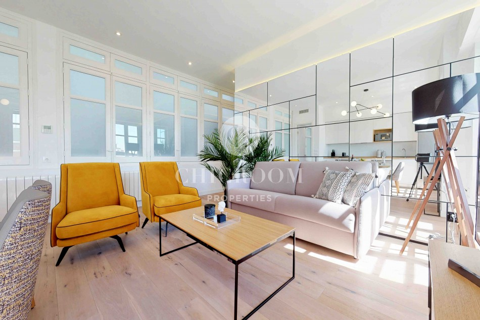 Luxury 3-bedroom apartment for rent in Gran Via Madrid