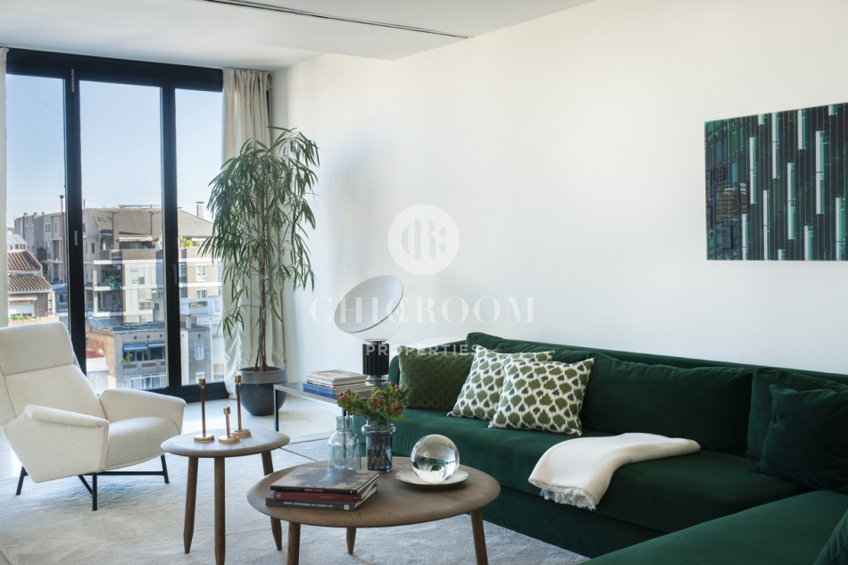 Beautifully furnished 4-bedroom apartment for rent in Sant Gervasi, Barcelona
