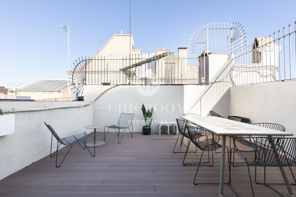 1-Bedroom Apartment to Rent with Terrace on Passeig de Gracia