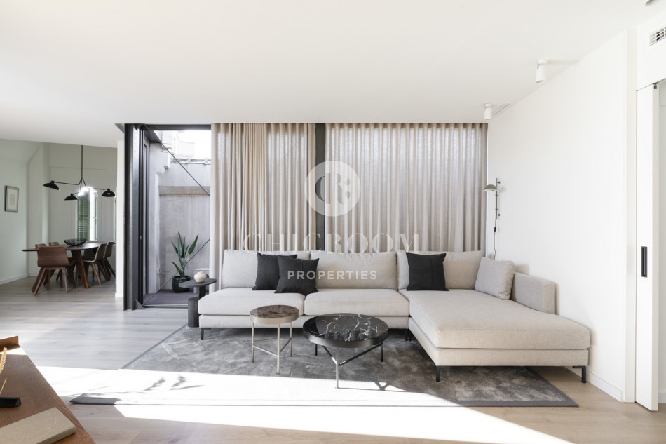 2-Bedroom Apartment to Rent with Terrace on Passeig de Gracia