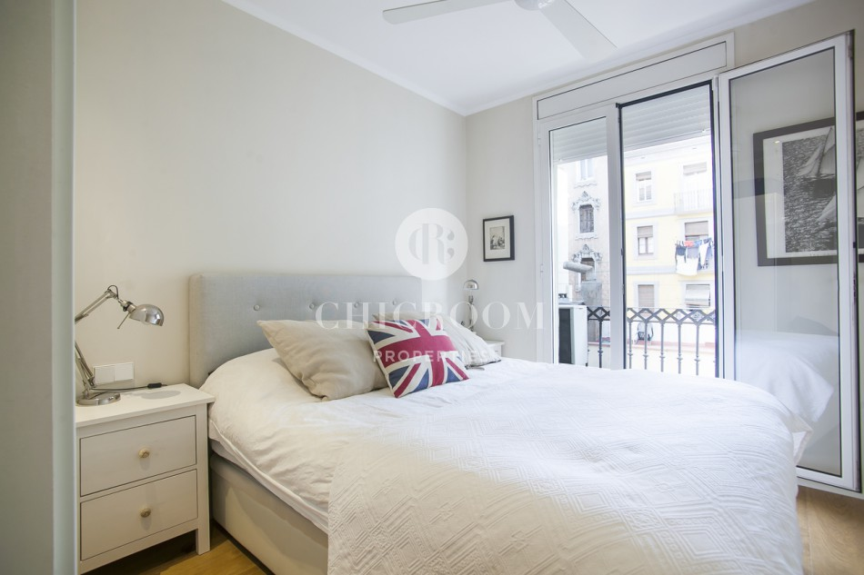 1-Bedroom Apartment with Views of the Harbour in Barceloneta