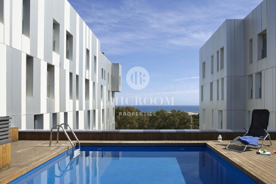 1 Bedroom Apartment for Rent in Poblenou with Swimming Pool