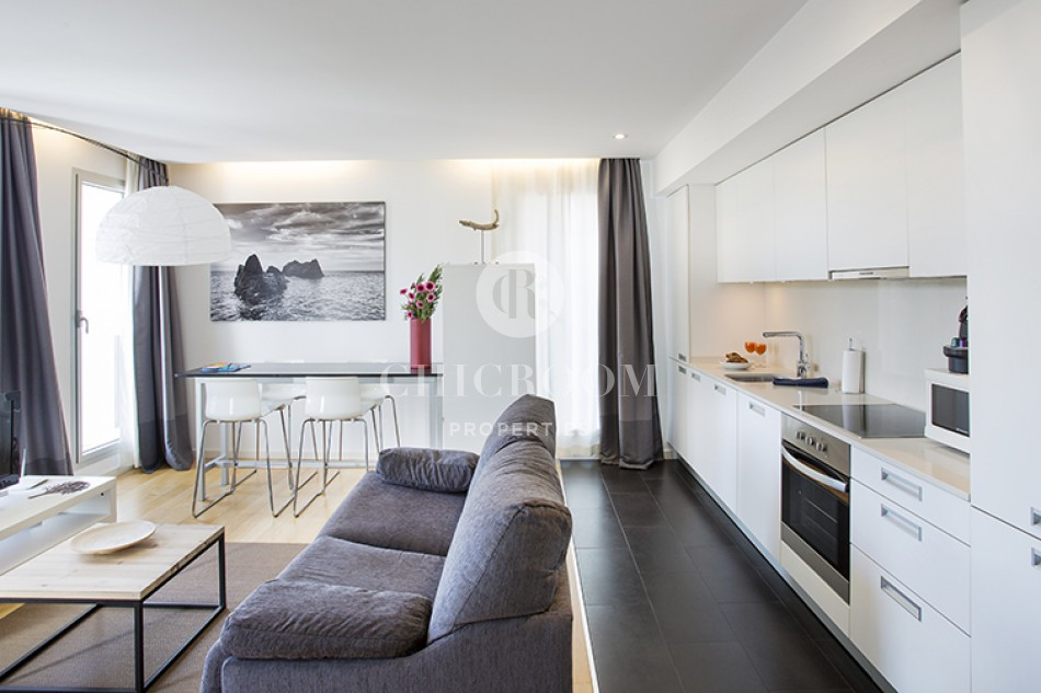 Spacious 1-Bedroom Apartment for Rent Near the Beach in Poblenou