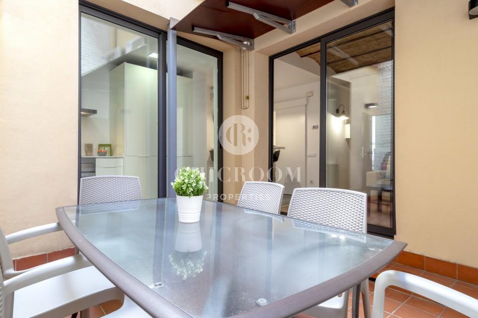 2-bedroom duplex apartment in Sant Antoni with 2 terraces