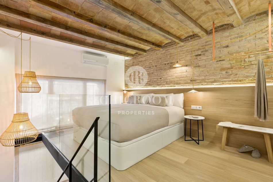 1-bedroom duplex apartment for rent in Sant Antoni