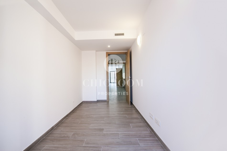 New construction duplex penthouse for rent in Castelldefels