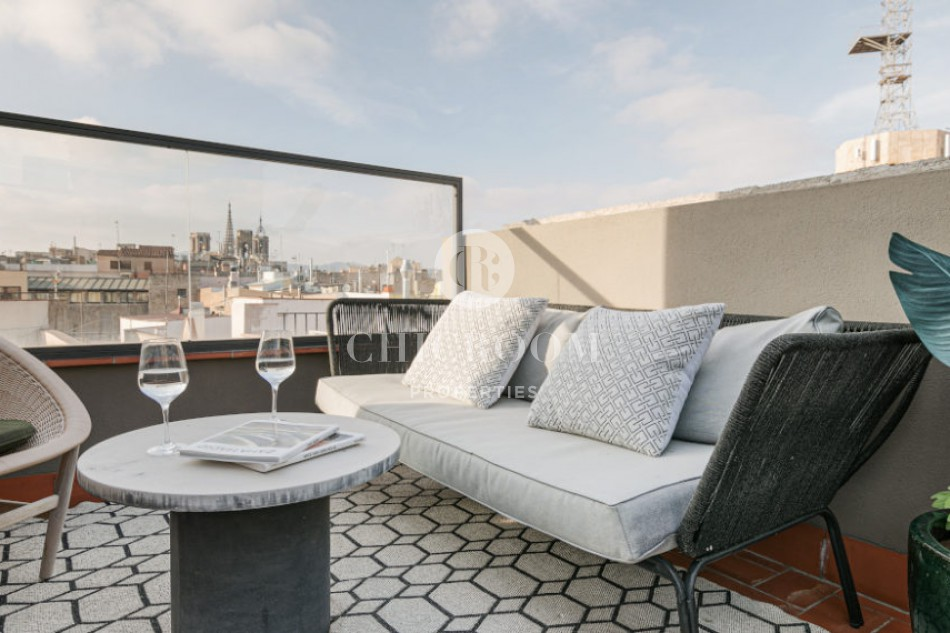 Furnished 1 bedroom apartment for rent in Barcelona