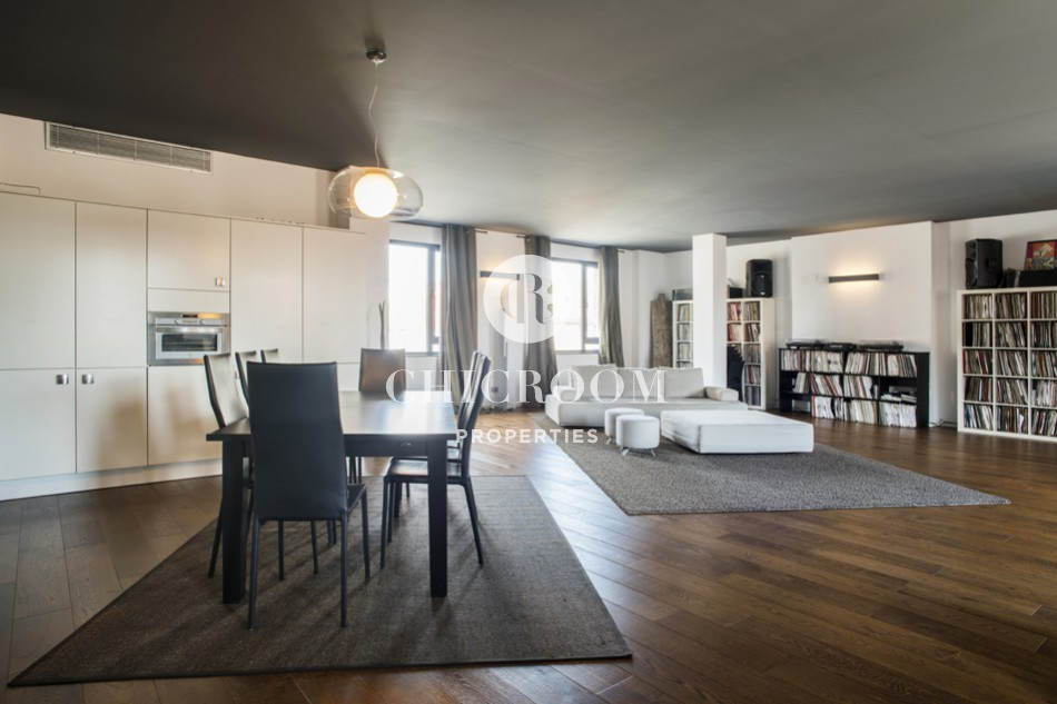 Exclusive loft for rent in Poblenou