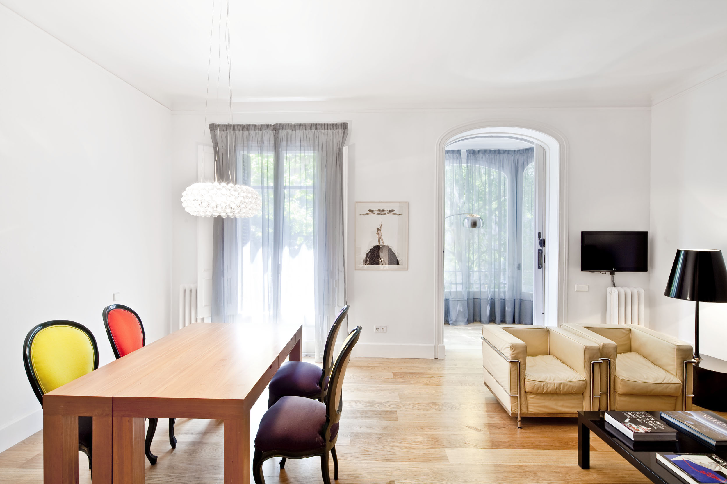 Furnished Two Bedroom Apartment Rental Eixample