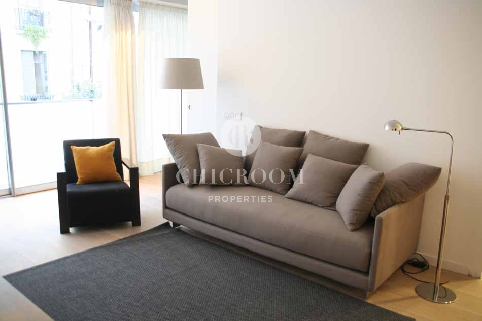 furnished one bedroom apartment for rent barcelona zona alta
