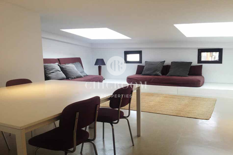 Furnished 1 Bedroom Roof Top Apartment For Rent In Sarria