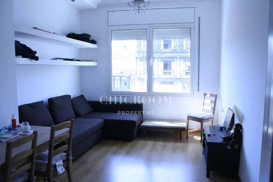 Unfurnished 2 bedrooms apartment for rent in dreta de l - 2 bedroom apartments for rent in nyc 1200 ...