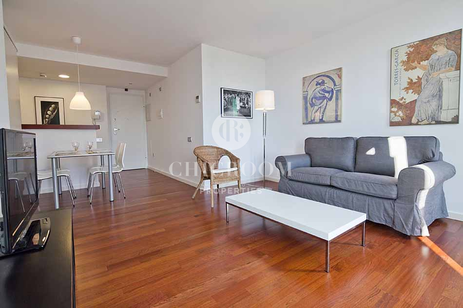Furnished 1 bedroom apartment for rent in barceloneta for I bedroom apartment