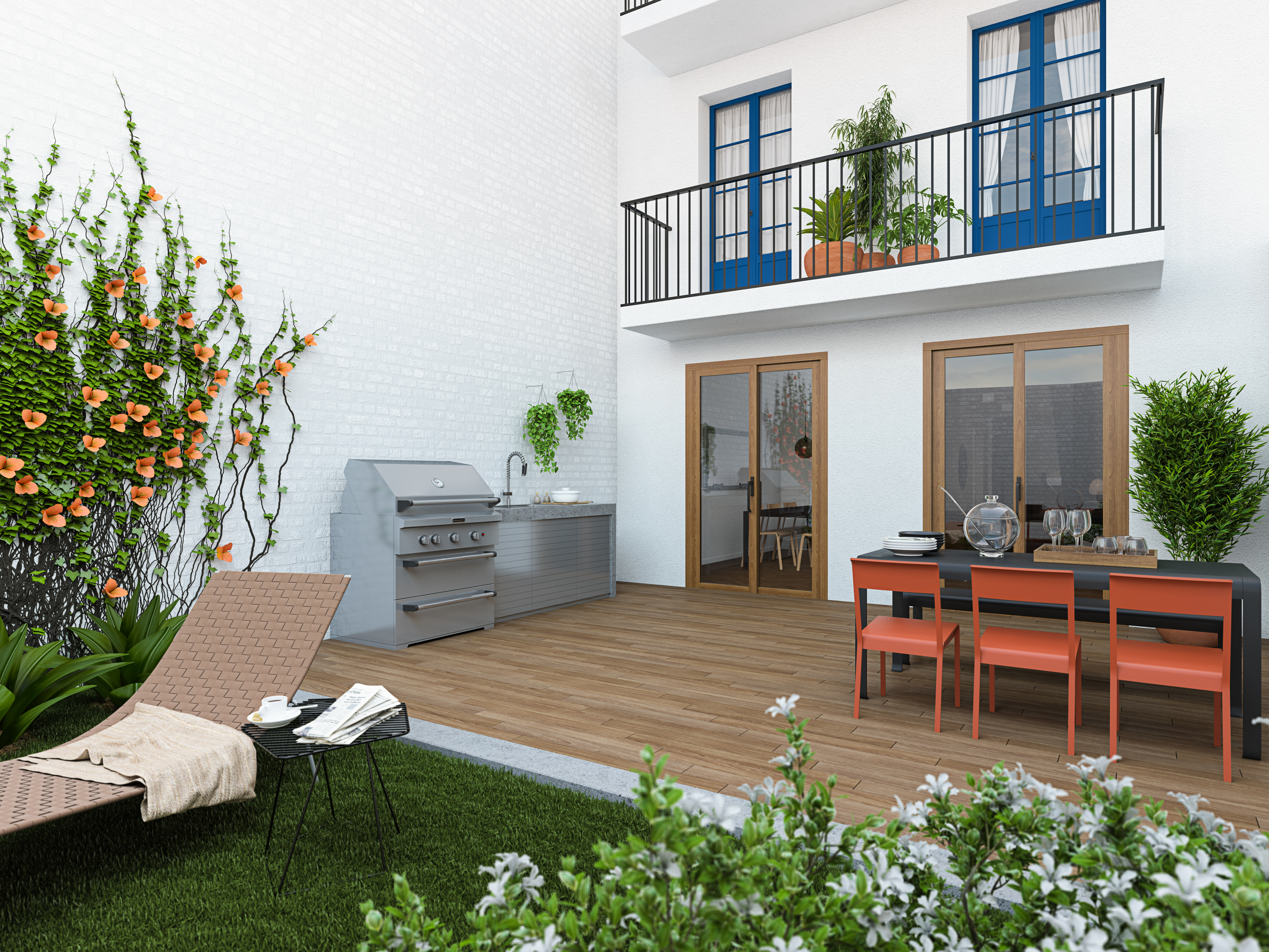 Luxury apartments for sale in new development in Barcelona